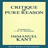 Critique of Pure Reason | Immanuel Kant |