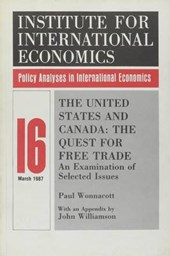 The United States and Canada - The Quest for Free Trade - An Examination of Selected Issues