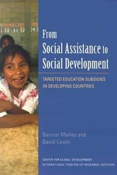From Social Assistance to Social Development