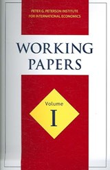 Working Papers Volume I | Peterson Instit Economics |
