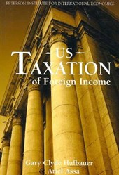 Us Taxation of Foreign Income | Gary Clyde Hufbauer |