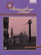 Twenty-Six Italian Songs and Arias | John Glenn Paton |