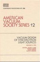 Vacuum Design of Synchrotron Light Sources |  |