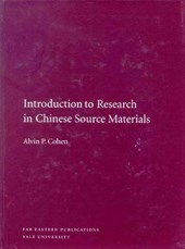 Introduction to Research in Chinese Source Materials