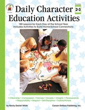 Daily Character Education Activities, Grades 2 -