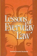Lessons of Everyday Law | Roderick Macdonald |