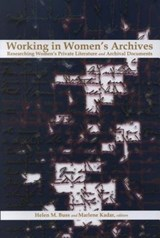 Working in Women's Archives | Marlene Kadar |
