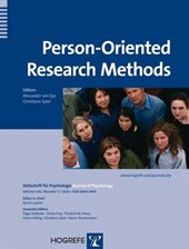 Person-Oriented Research Methods |  |