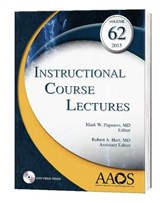 Instructional Course Lectures | Pagnano, Mark W., M.D. |