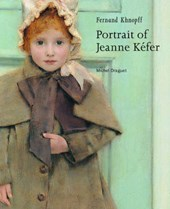 Fernand Khnopff - Portrait of Jeanne Kefer | . Draguet |