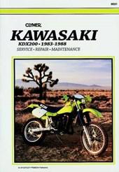 Clymer Kawasaki Kdx200 83-88