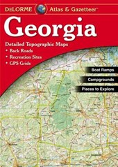 Georgia Atlas & Gazetteer | Delorme |