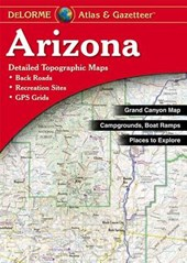 Delorme Arizona Atlas & Gazetteer