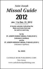 Saint Joseph Missal Guide