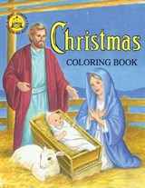 Coloring Book about Christmas | Catholic Book Publishing Co |