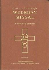 Saint Joseph Weekday Missal (Vol. I/Advent to Pentecost)