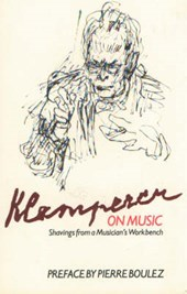 Klemperer on Music