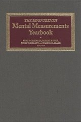 Mental Measurements Yearbook | Robert A Spies |