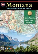 Montana Road & Recreation Atlas | Benchmark Maps & . Atlases |