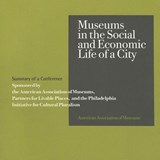 Museums in the Social and Economic Life of a City | Portia Hamilton-Sperr |