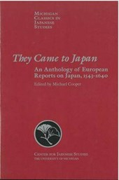 They Came to Japan | Michael Cooper |