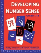 Developing Number Sense, Grades 3-6 | Rusty Bresser |