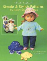 Simple & Stylish Patterns for Dolls' Hats and Shoes | Maria Freeman |