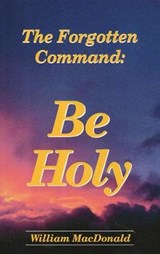Be Holy | John Ritchie |