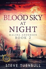 Blood Sky at Night (Maliha Anderson, #2) | Steve Turnbull |