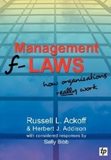 Management F-Laws | Russell L. Ackoff |