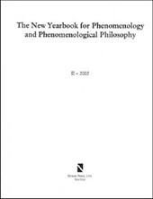 The New Yearbook for Phenomenology and Phenomenological Philosophy II
