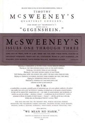McSweeney's Issues One Through Three