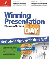 Winning Presentation in a Day | Rhonda Abrams |