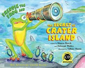 Freddie the Frog and the Secret of Crater Island [With CD (Audio)]
