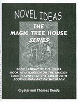 Novel Ideas the Magic Tree House Series Books #05 - #08 | Crystal Rende |