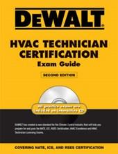 Dewalt HVAC Technician Certification Exam Guide [With CDROM]