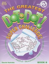 The Greatest Dot-To-Dot! Super Challenge! Book