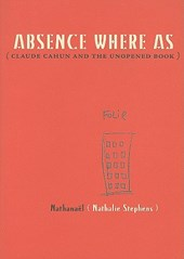 Absence Where As | Nathalie Stephens |