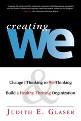 Creating WE | Judith E. Glaser |