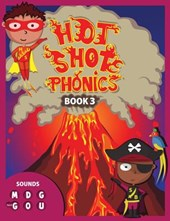 Hot Shot Phonics Book 3 M D G Hard G O U