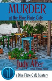 Murder at the Blue Plate Cafe (Blue Plate Cafe Sries, #1)