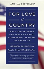For Love of Country | Schultz, Howard ; Chandrasekaran, Rajiv |