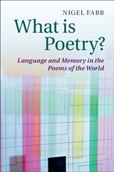 What is Poetry? | Nigel Fabb |