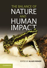 The Balance of Nature and Human Impact | Klaus Rohde |
