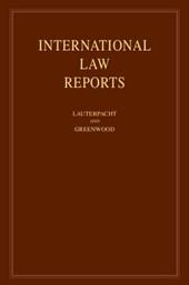 International Law Reports: Volume 149