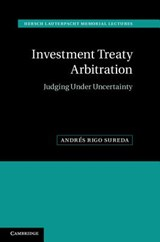 Investment Treaty Arbitration | Andres Rigo Sureda |