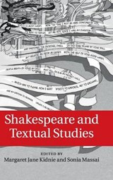 Shakespeare and Textual Studies |  |