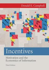 Incentives | Donald E. Campbell |