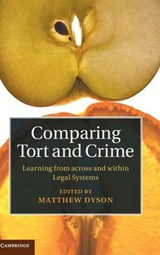 Comparing Tort and Crime | Matt Dyson |