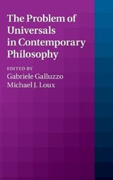 Problem of Universals in Contemporary Philosophy | Gabriele Galluzzo |